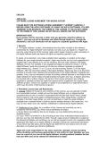 CASES FOR ORAL ARGUMENT, CALENDAR ORDER, REGULAR