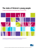 The state of Victorias young people - Department of Education and