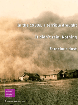 Dust Bowl - Scholastic