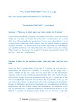 Secret of the Wild Child – Video Transcript http://www.pbs.org