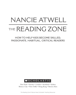 how to help kids become skilled, passionate, habitual, critical readers