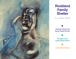 Annual Report - Rockland Family Shelter