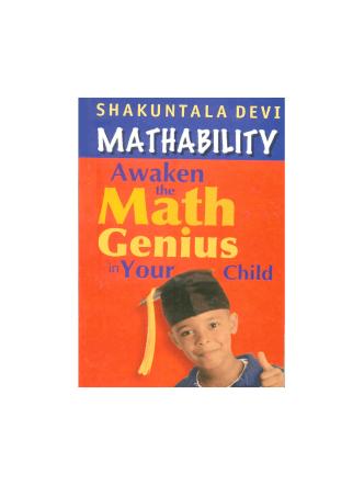Awaken The Math Genius In Your Child - SBI Officers Association(K)