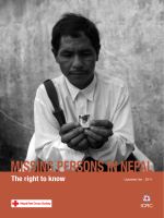 MISSING PERSONS IN NEPAL - ICRC