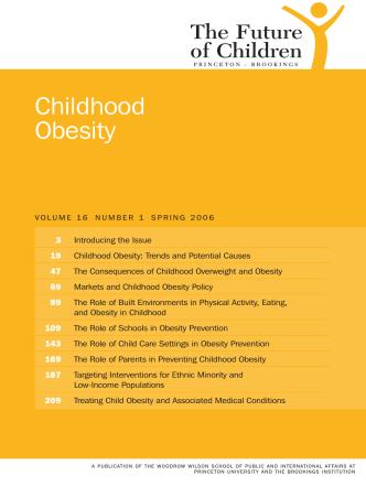 Childhood Obesity - The Future of Children