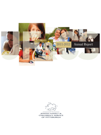 2011-2012 Annual Report - Jewish Family Childrens Service of