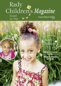 Rady Childrens Magazine, 2011 Annual Report