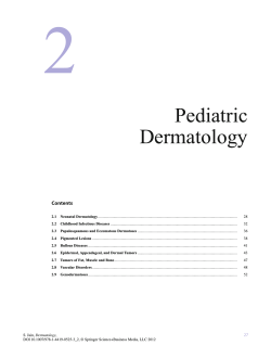 Pediatric Dermatology - Springer