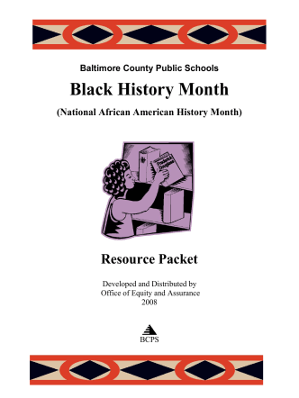 African American History Month - Baltimore County Public Schools