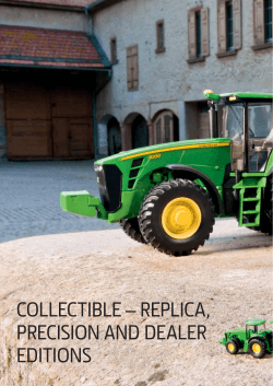 COLLECTIBLE – REPLICA, PRECISION AND DEALER EDITIONS