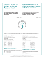 Transition Houses and Shelters for Abused Women in Canada