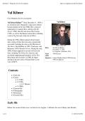 Val Kilmer - Wikipedia, the free encyclopedia - Sex Degrees