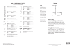 STUVA buying guide FY11.indd - Ikea