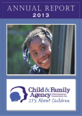 to read the full Annual Report… - Child Family Agency