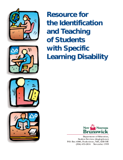 Resource for the Identification and Teaching of Students with