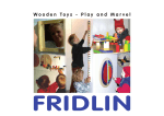 Wooden Toys - Play and Marvel - Fridlin.de