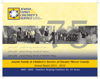 2011 - 2012 Board of Directors - Jewish Family Childrens Service