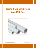 PVC Pipe Bed Instructions - Frugal Home DIY