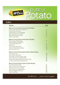 Purely Potato Recipes - McCain