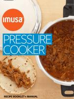 recipe booklet +manual - IMUSA
