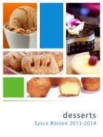 desserts - Sysco Boston LLC