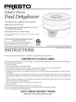 Food Dehydrator - Presto