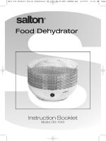 Food Dehydrator - Salton