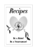 FREE 70 page vegan recipe book