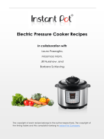 Instant Pot Electric Pressure Cooker Recipes - 123Greetings Store