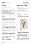 Ice Cream - ESL Library