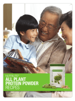 NUTRILITE ALL PLANT PROTEIN POWDER RECIPES - Amway