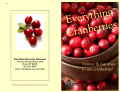 Everything Cranberries - Utah State University Extension
