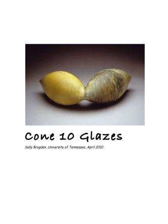 Cone 10 Glazes