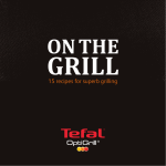 Download recipe book - Tefal Optigrill