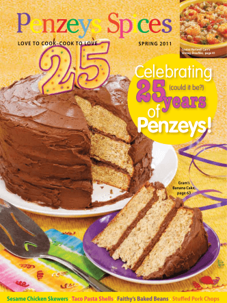 25years Penzeys! - Penzeys Spices