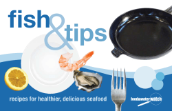 recipes for healthier, delicious seafood - Food Water Watch