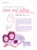 Jams and Jellies from North Dakota Fruits - NDSU Agriculture