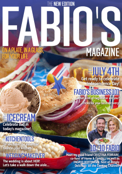 #JULY 4TH - Chef Fabio Viviani