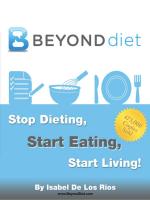- 1 - www.BeyondDiet.com