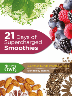 Natures Own Superfood Blends Berry
