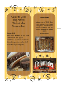 How to Cook Skinless Brats - Tiefenthaler Quality Meats