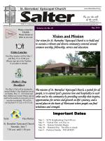May 2014 Salter - St. Barnabas