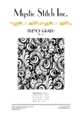 FRENCH GRAPH - NFP-152 - Mystic Stitch