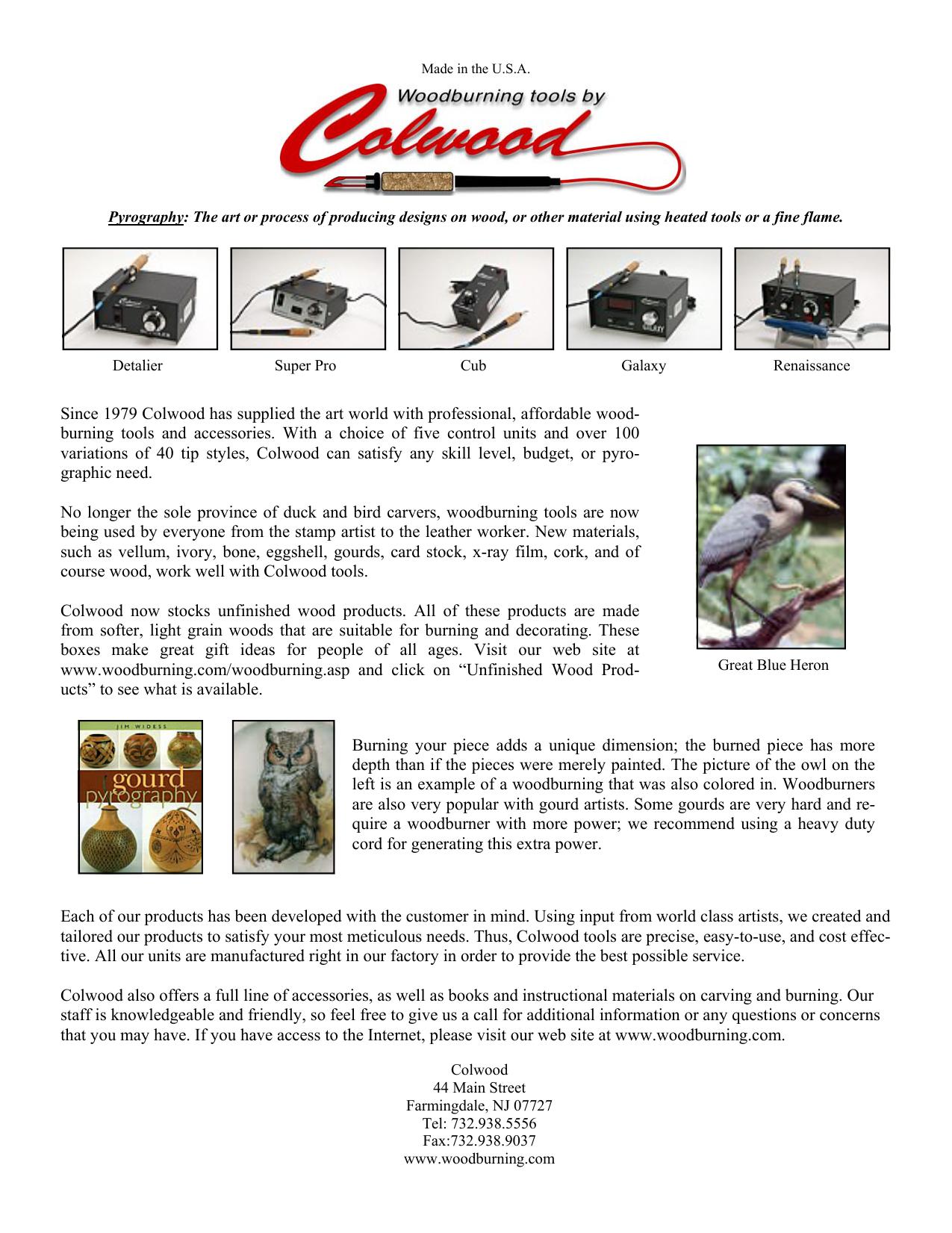 Catalog - Colwood Electronics, Inc