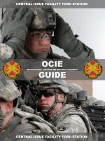 OCIE Guide (PA2400) - U.S. Army