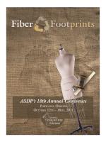 Fiber Footprints - the Association of Sewing Design Professionals