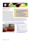 Presidents Corner - Madison Knitters Guild
