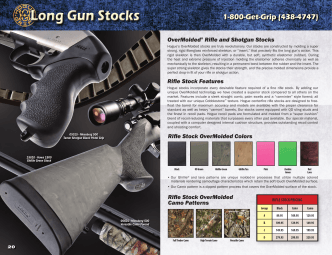 25 Rifle and Shotgun Stocks - Hogue