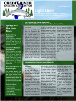 Spring 2010 - Credit River Anglers Association (CRAA)