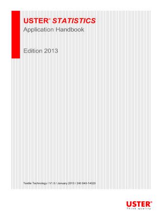 Application Handbook_Uster_Statistics - Uster Technologies